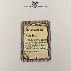 Die Hanse Spielkarte Sturm Auf Der Nordsee #2