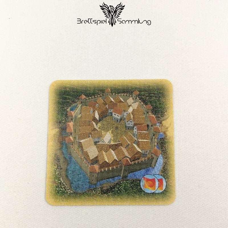 Die Siedler Von Catan Das Kartenspiel Spielkarte Städte
