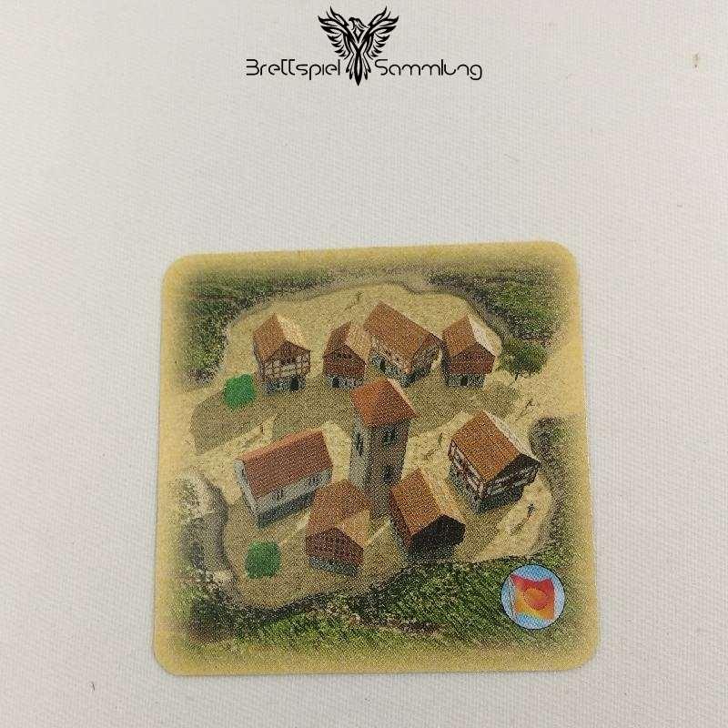 Die Siedler Von Catan Das Kartenspiel Spielkarte Siedlungen