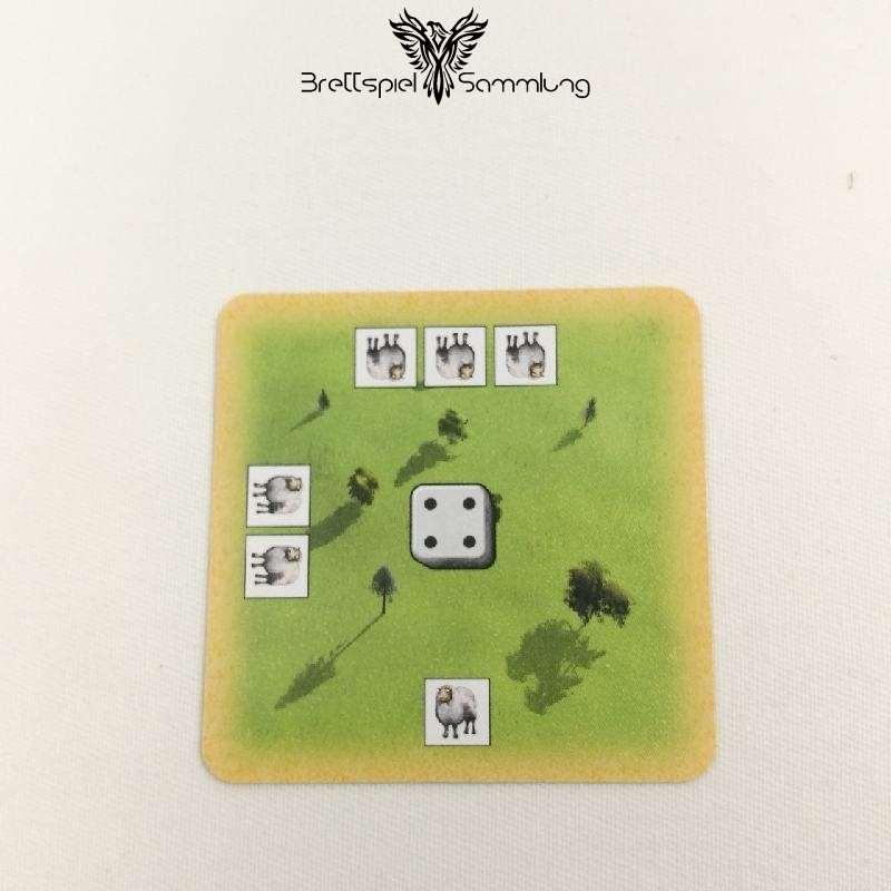 Die Siedler Von Catan Das Kartenspiel Startkarte Landschaft Weidelandschaft Schwarz