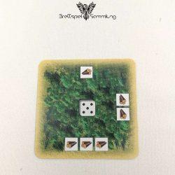 Die Siedler Von Catan Das Kartenspiel Startkarte Landschaft Wald Schwarz