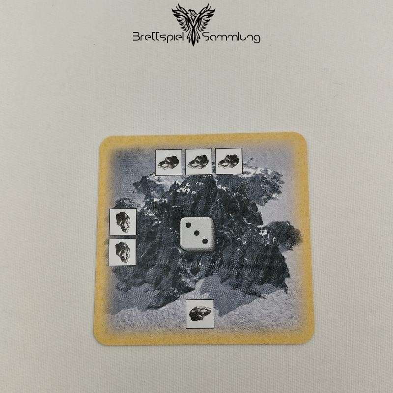Die Siedler Von Catan Das Kartenspiel Startkarte Landschaft Gebirge Schwarz
