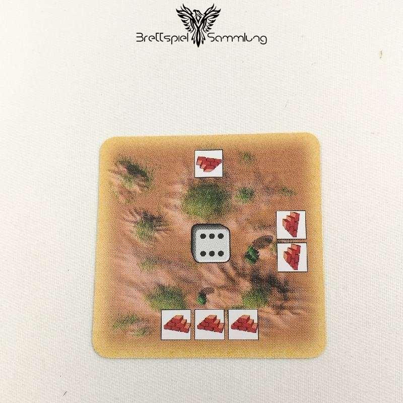 Die Siedler Von Catan Das Kartenspiel Startkarte Landschaft Hügel Schwarz