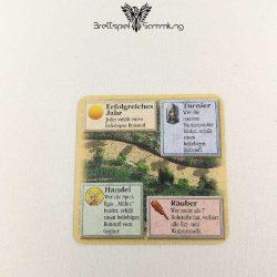 Die Siedler Von Catan Das Kartenspiel Startkarte Straße Schwarz