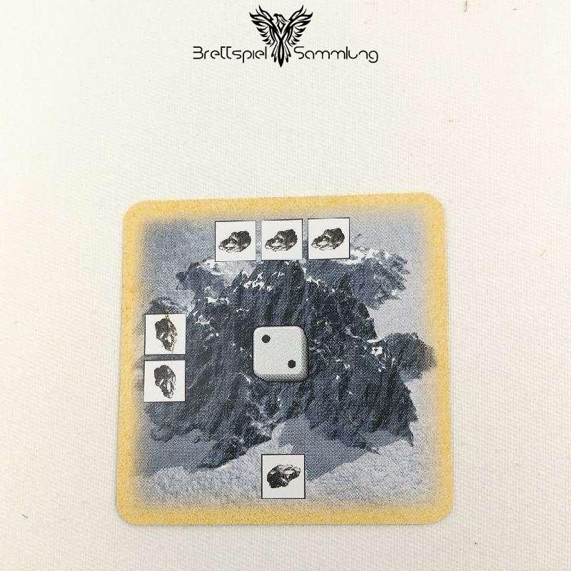 Die Siedler Von Catan Das Kartenspiel Startkarte Landschaft Gebirge Rot