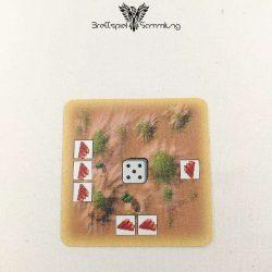 Die Siedler Von Catan Das Kartenspiel Startkarte Landschaft Hügel Rot