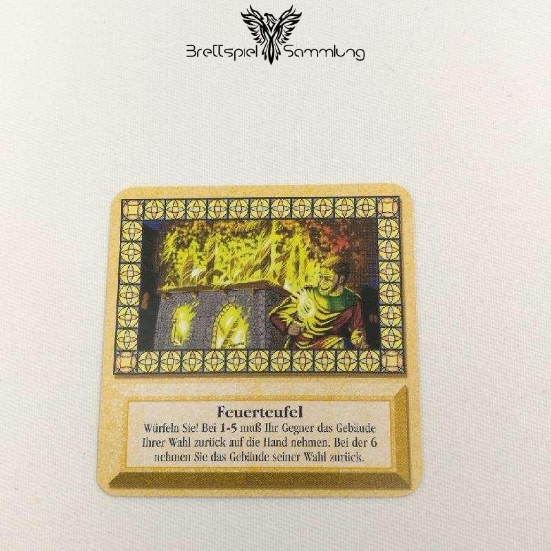 Die Siedler Von Catan Das Kartenspiel Spielkarte Feuerteufel