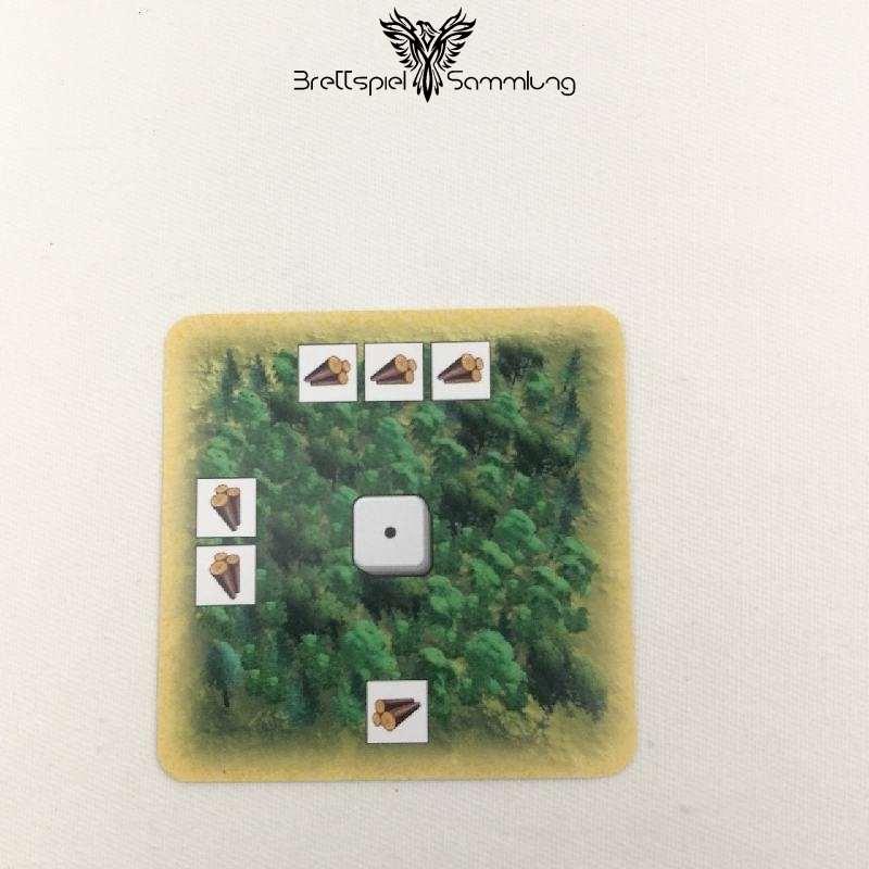 Die Siedler Von Catan Das Kartenspiel Landschaftskarte Wald #1