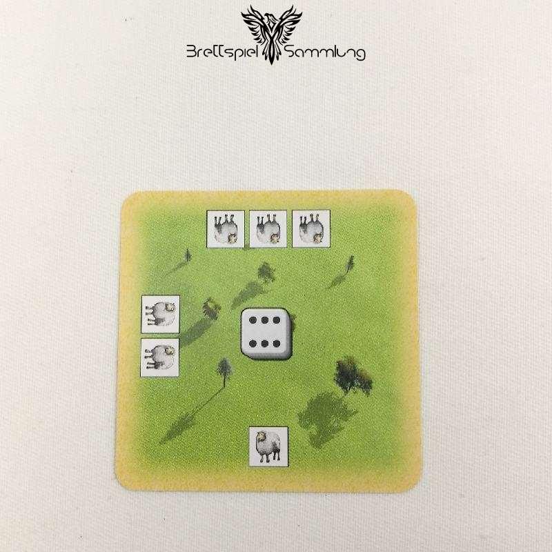 Die Siedler Von Catan Das Kartenspiel Landschaftskarte Weidelandschaft #6