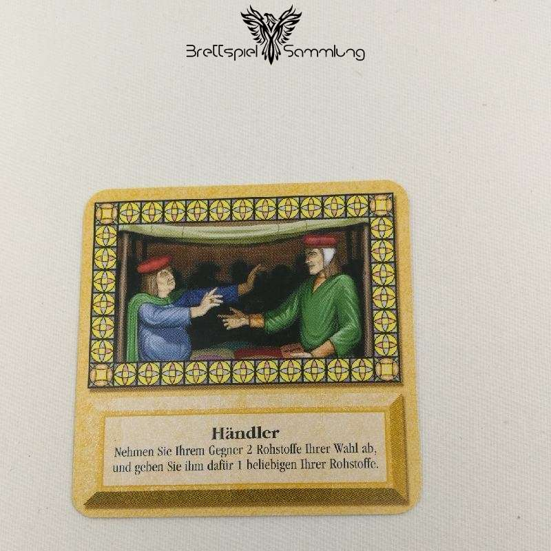 Die Siedler Von Catan Das Kartenspiel Spielkarte Händler
