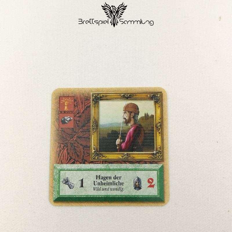 Die Siedler Von Catan Das Kartenspiel Spielkarte Ritter Hagen Der Unheimliche