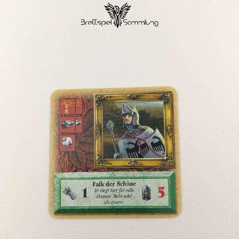 Die Siedler Von Catan Das Kartenspiel Spielkarte Ritter Falk Der Schöne