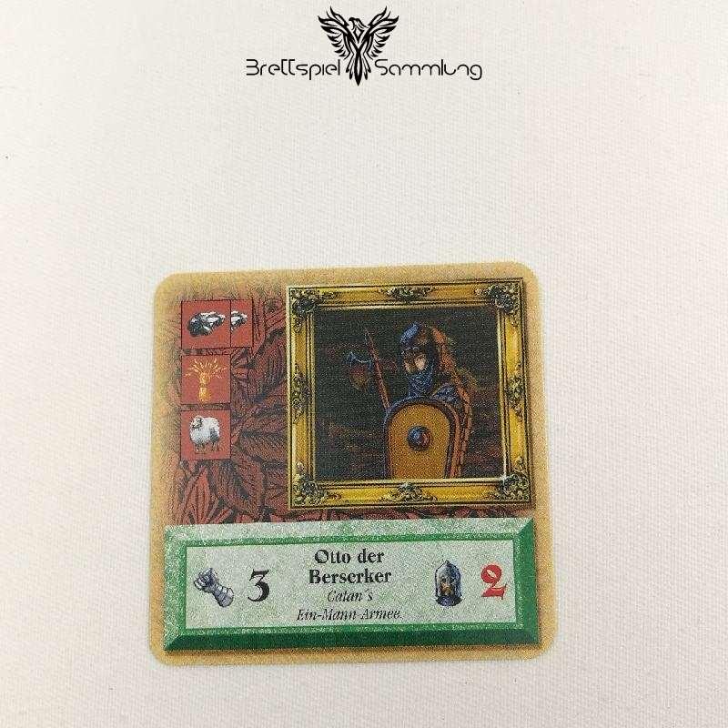 Die Siedler Von Catan Das Kartenspiel Spielkarte Ritter Otto Der Berserker