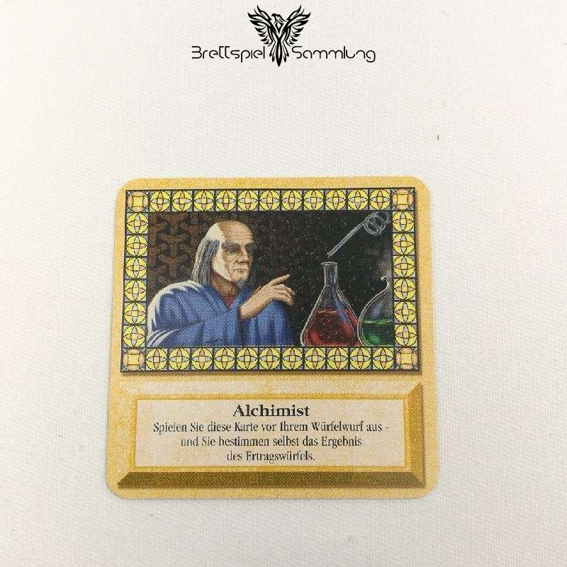 Die Siedler Von Catan Das Kartenspiel Spielkarte Alchimist