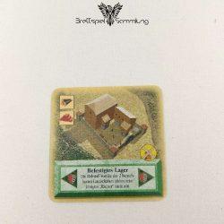 Die Siedler Von Catan Das Kartenspiel Spielkarte Befestigtes Lager
