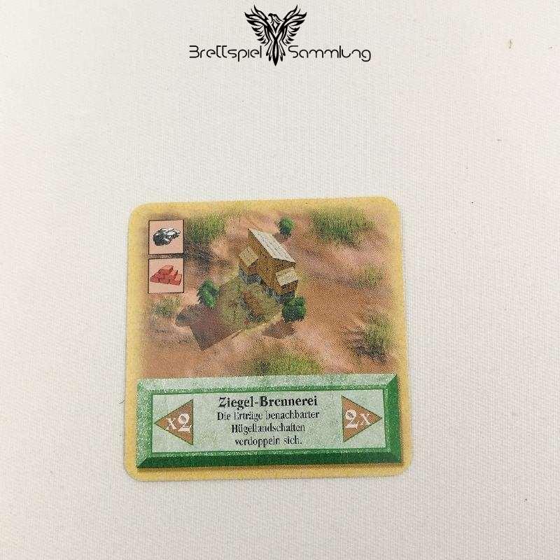 Die Siedler Von Catan Das Kartenspiel Spielkarte Ziegelbrennerei
