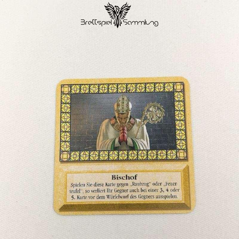 Die Siedler Von Catan Das Kartenspiel Spielkarte Bischof