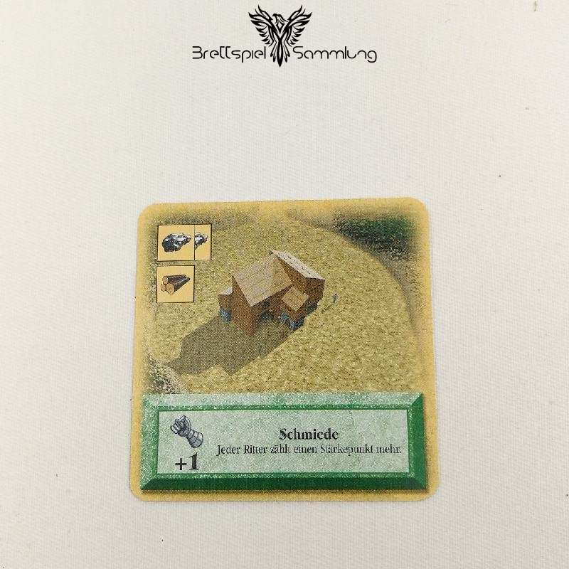 Die Siedler Von Catan Das Kartenspiel Spielkarte Schmiede