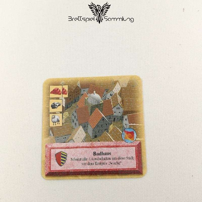 Die Siedler Von Catan Das Kartenspiel Spielkarte Badhaus