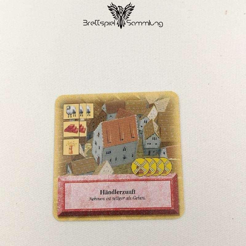 Die Siedler Von Catan Das Kartenspiel Spielkarte Händlerzunft