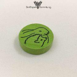 Hase Und Igel Spielstein Grün