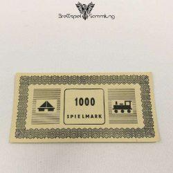 Monopoly Silber Edition Spielgeld 1000 Spielmark