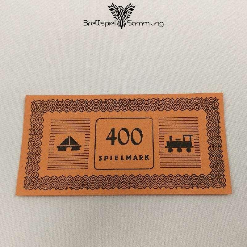 Monopoly Silber Edition Spielgeld 400 Spielmark