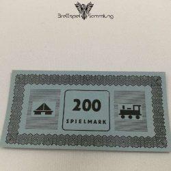 Monopoly Silber Edition Spielgeld 200 Spielmark