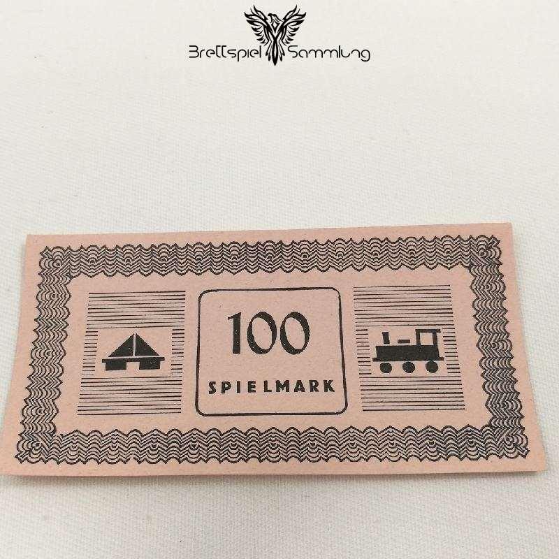 Monopoly Silber Edition Spielgeld 100 Spielmark