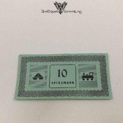 Monopoly Silber Edition Spielgeld 10 Spielmark