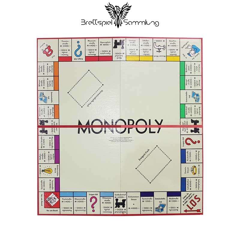 Brettspiel Sammlung Monopoly Silber Edition Brett