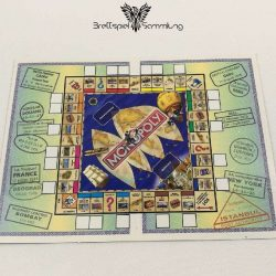 Monopoly Weltreise Reisepass