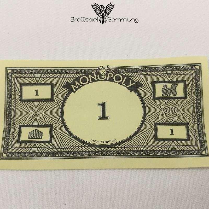 Monopoly Weltreise Spielgeld 1