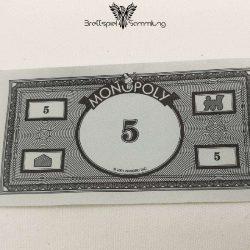 Monopoly Weltreise Spielgeld 5