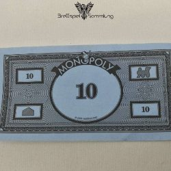 Monopoly Weltreise Spielgeld 10