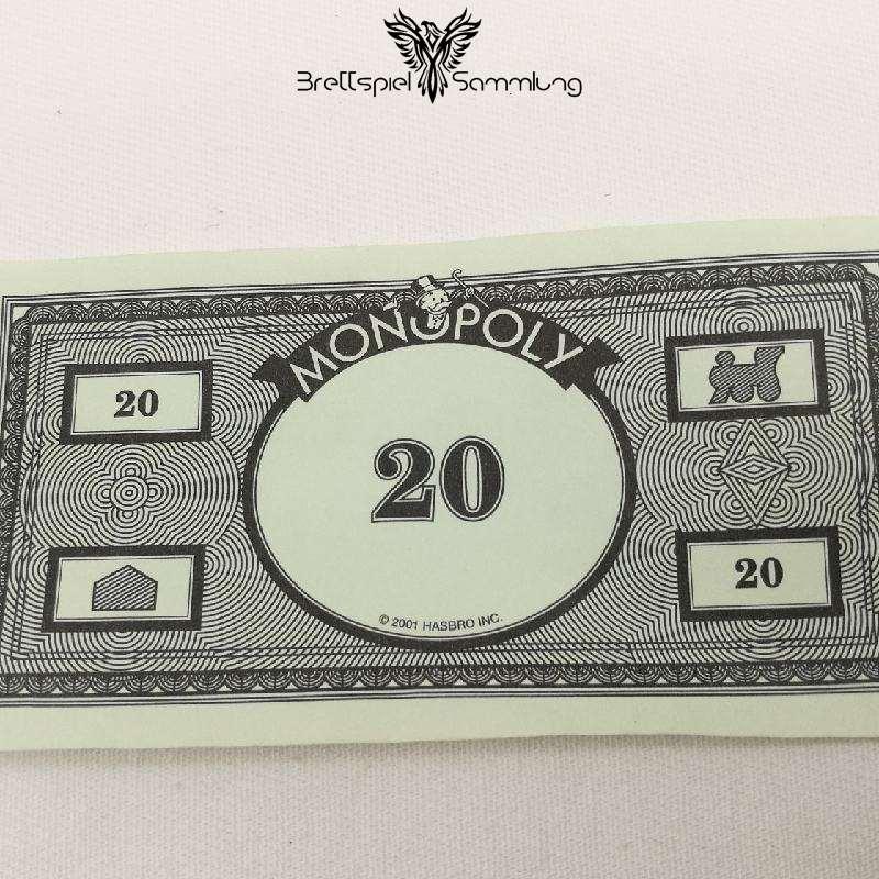 Monopoly Weltreise Spielgeld 20