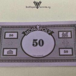 Monopoly Weltreise Spielgeld 50