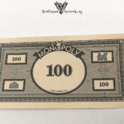Monopoly Weltreise Spielgeld 100