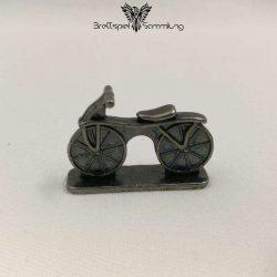 Monopoly Weltreise Spielfigur Fahrrad