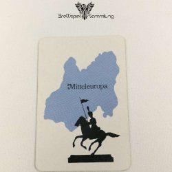 Risiko Spielkarte Länderkarte Mitteleuropa