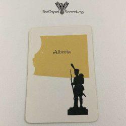 Risiko Spielkarte Länderkarte Alberta