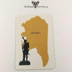 Risiko Spielkarte Länderkarte Alaska