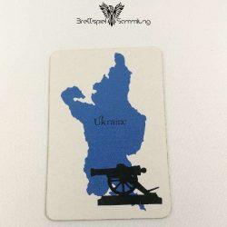 Risiko Spielkarte Länderkarte Ukraine
