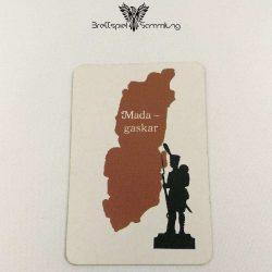 Risiko Spielkarte Länderkarte Madagaskar