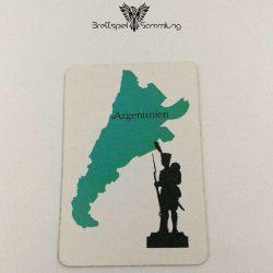 Risiko Spielkarte Länderkarte Argentinien
