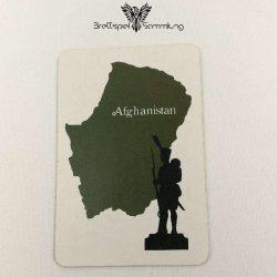 Risiko Spielkarte Länderkarte Afghanistan