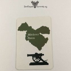 Risiko Spielkarte Länderkarte Mittlerer Osten