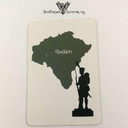 Risiko Spielkarte Länderkarte Indien
