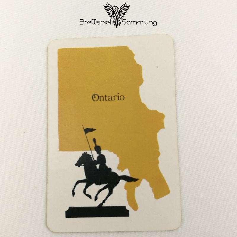 Risiko Spielkarte Länderkarte Ontario