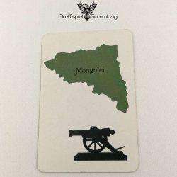 Risiko Spielkarte Länderkarte Mongolei